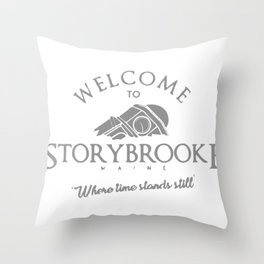 Welcome To Storybrooke Throw Pillow