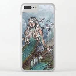 Tempest Mermaid Clear iPhone Case
