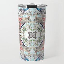 Hokusai Mandala Travel Mug