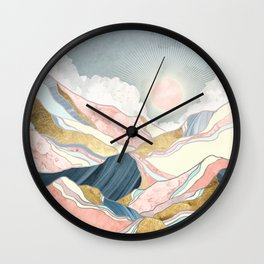 Spring Morning Wall Clock