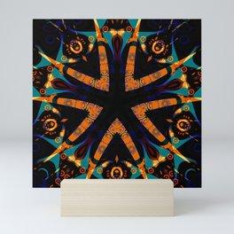 Tribal Geometric Mini Art Print
