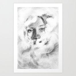 Humo Art Print