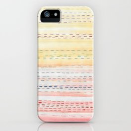 Sunset Stitch iPhone Case