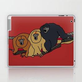 Howler Monkeys Laptop & iPad Skin
