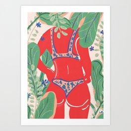 The Art Of Bikini Art Print