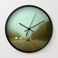 ohio Wall Clocks featuring Ohio #5 by Alicia Bock