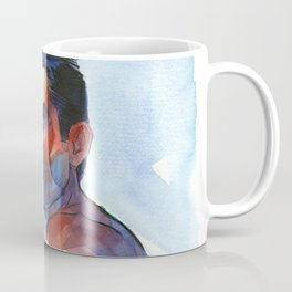 "JAMES FRANCO, artwork for the film ""King Cobra"" by Frank-Joseph Coffee Mug"