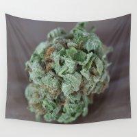 medical Wall Tapestries featuring Master Kush Medical Marijuana by BudProducts.us