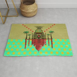 pineapple architecture 2 Rug
