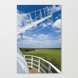 Horsey Windpump - Windmill Canvas Print