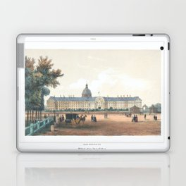 Paris art print Paris Decor office decoration vintage decor HOTEL DES INVALIDES of Paris Laptop & iPad Skin
