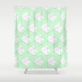 Mint Crush Shower Curtain