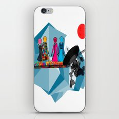 Space girls  iPhone & iPod Skin