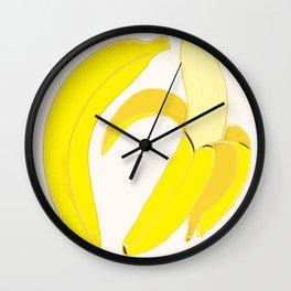 Dancing Bananas Wall Clock