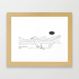 Fishing the Little Missouri Framed Art Print