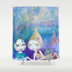 Two-getherness Shower Curtain