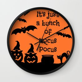 A Bunch of Hocus Pocus Wall Clock