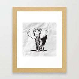 Mr. Elephanto Framed Art Print