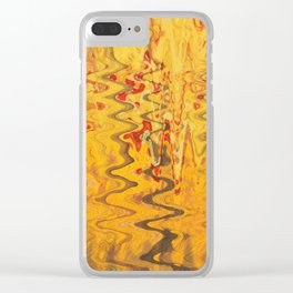 magic waves Clear iPhone Case