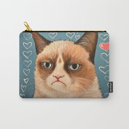 Grumpy Cat ... Love You Carry-All Pouch