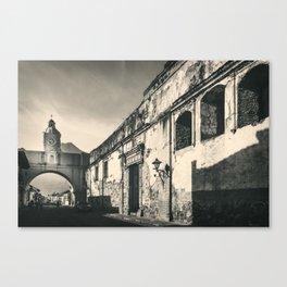 Antique buildings in Antigua, Guatemala Canvas Print