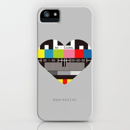 Depression iPhone Case