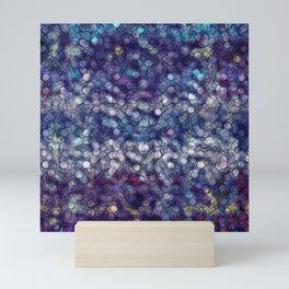 Abstract circle #5 Mini Art Print