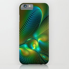 The Protector, Abstract Fractal Art iPhone Case