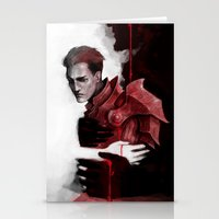dragon age Stationery Cards featuring Dragon Age: Krem by Couple Of Kooks