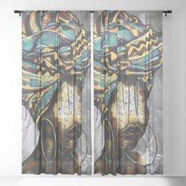 Naturally LVIV Sheer Curtain