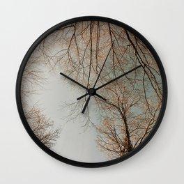 The Trees - Crisp Fall Wall Clock