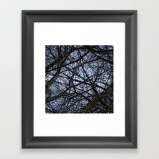 tangled remnants ever ending Framed Art Print
