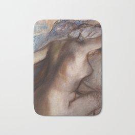 Edgar Degas - After the bath, woman drying herself Bath Mat