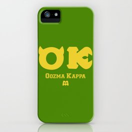 Oozma Kappa (Monsters University) iPhone Case