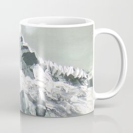 Panoramic View Of Mountain Everest Coffee Mug