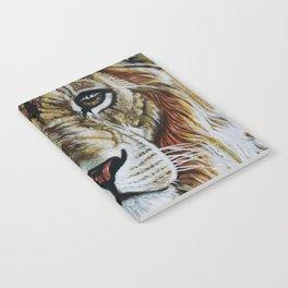 Beauty Lion Notebook