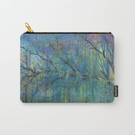 Prelude to Spring Colorful Tree Painting Carry-All Pouch