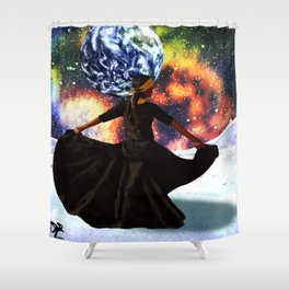 music is life Shower Curtain