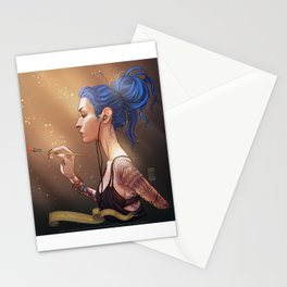 Karou Painting in Light Stationery Cards