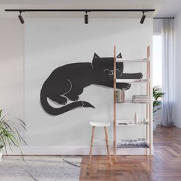 Happy Kitty Wall Mural