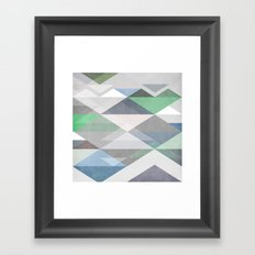 Nordic Combination II Framed Art Print