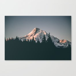 First Light on Mount Hood Canvas Print