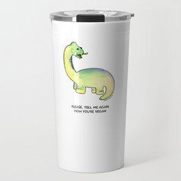 Brackston the Brachiosaurus Travel Mug