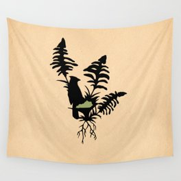 Kentucky - State Papercut Print Wall Tapestry