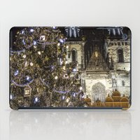 new year iPad Cases featuring New Year 3 by Veronika
