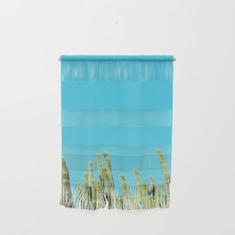 Desert Cactus Reaching for the Blue Sky Wall Hanging