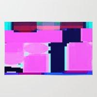 blur Area & Throw Rugs featuring Blur by allan redd