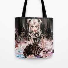 Moon Witch Tote Bag