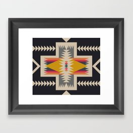 bonfire Framed Art Print
