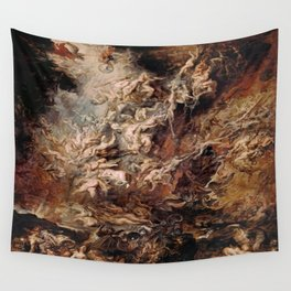 Peter Paul Rubens's The Fall of the Damned Wall Tapestry